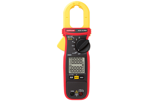 ACD-14-PRO Dual Display 600 A TRMS Clamp Meter