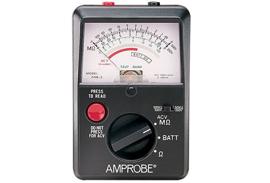 Amprobe AMB-2 Insulation Resistance Tester