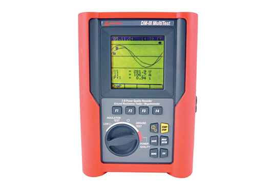 Amprobe DM-III Multitest F 3000A Power Quality Recorder