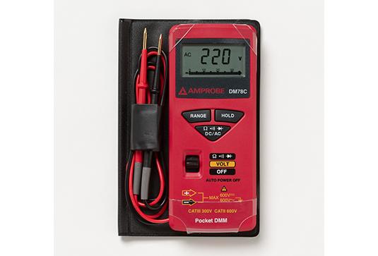 Amprobe DM78C Credit Card Size Multimeter