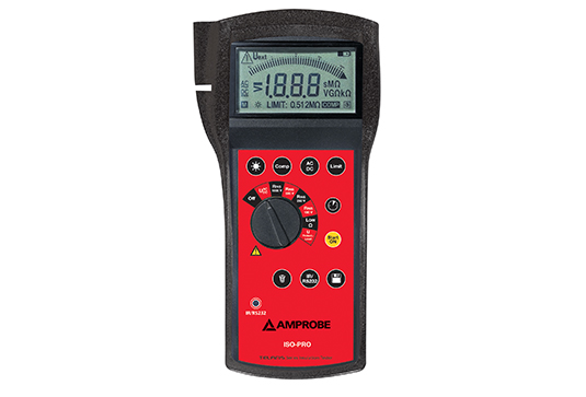 Amprobe Telaris ISO-PRO Insulation Tester