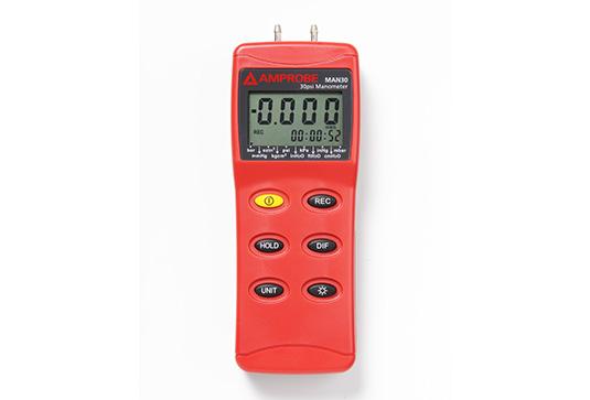 Amprobe MAN30 Differential Pressure Manometer up to 30 psi