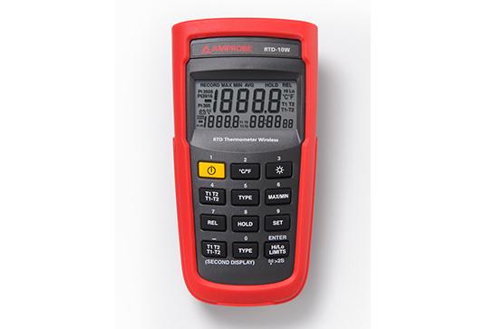 RTD-10W Wireless Dual Input Digital RTD Thermometer