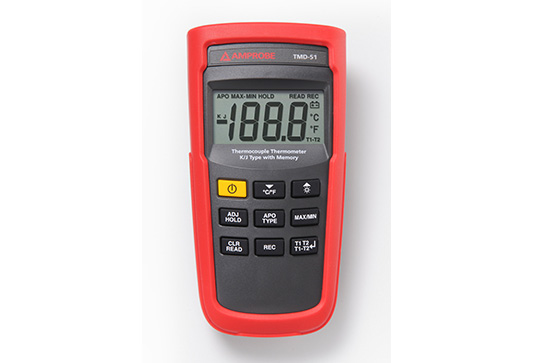 Amprobe TMD-51 Thermometer K/J-Type with Memory